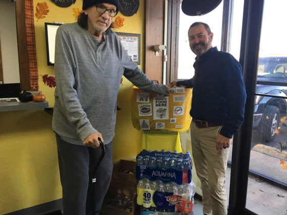 Vyve Thanksgiving Food Drive